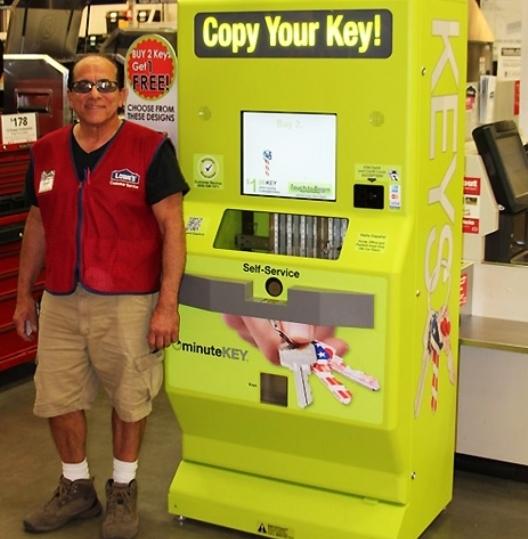 MinuteKey, la máquina automática que nos permite duplicar llaves en un instante