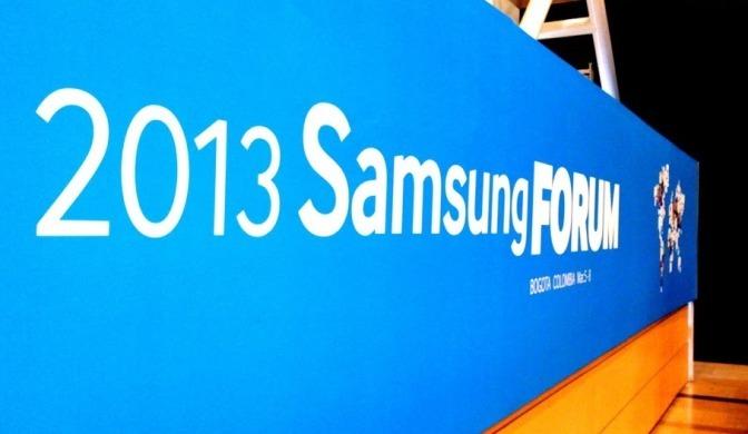 Samsung Forum 2013: evento en donde la empresa coreana mostro sus novedades para el presente año