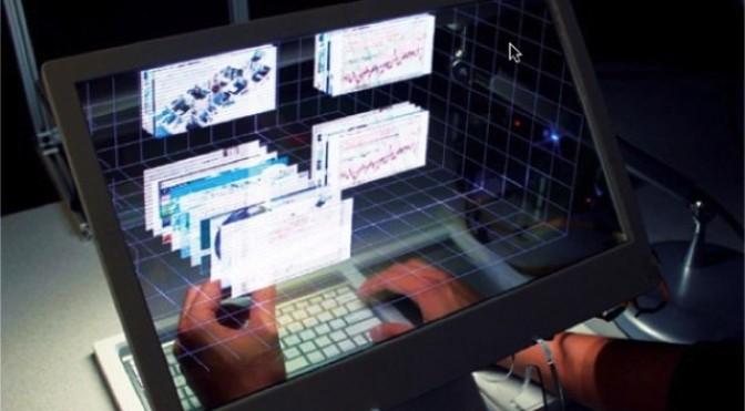 SpaceTop 3D, una computadora realmente interactiva