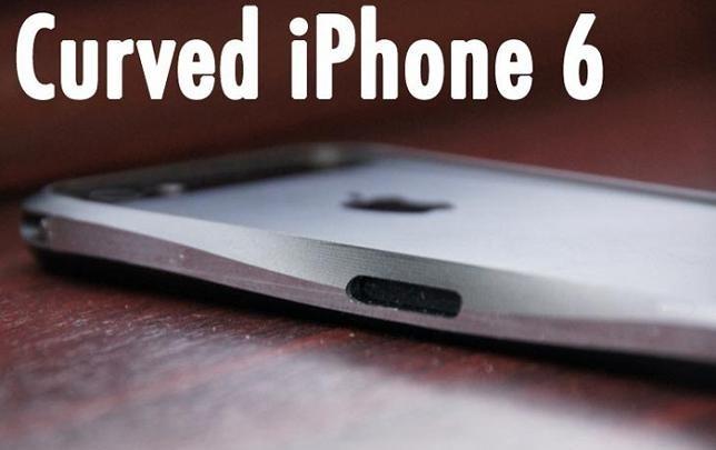 Un iPhone 6 curvado, ¿será este diseño el próximo modelo?