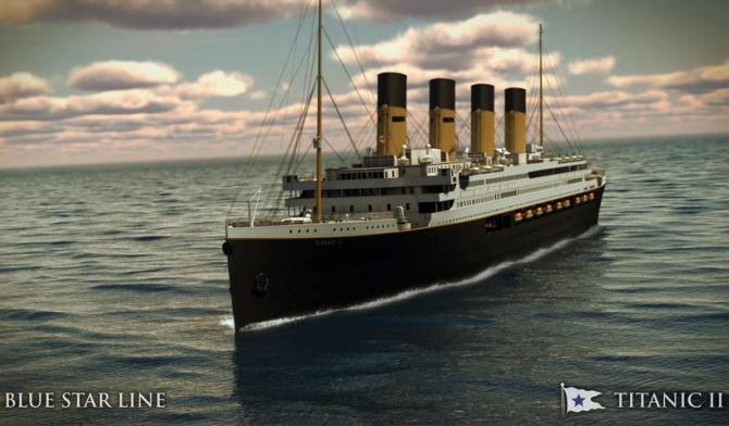 Titanic II: futuro navío muy similar al mítico Titanic será puesto a flote en el 2016