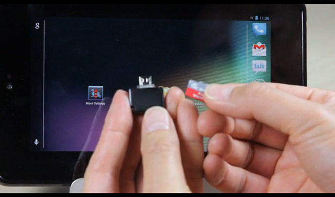 Llega a Kickstarter el lector de tarjetas MicroSD para smartphones y tablets Android