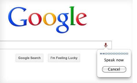 Google Chrome incorpora la búsqueda por voz en su última versión