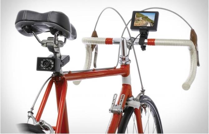 Novedoso espejo retrovisor con cámara para instalar en nuestra bicicleta