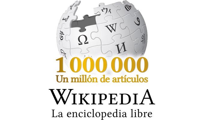 Wikipedia en español llega al millón de artículos publicados