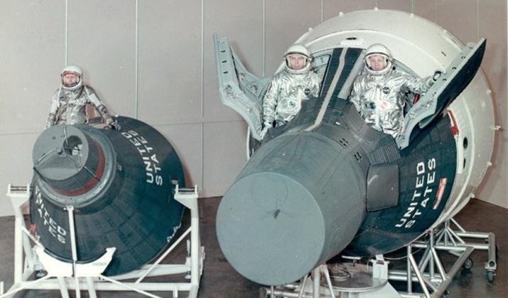 Las primeras naves espaciales que llevaron a los astronautas hacia el espacio