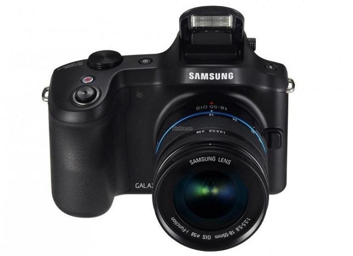Samsung Galaxy NX: imágenes de la futura cámara Android de Samsung