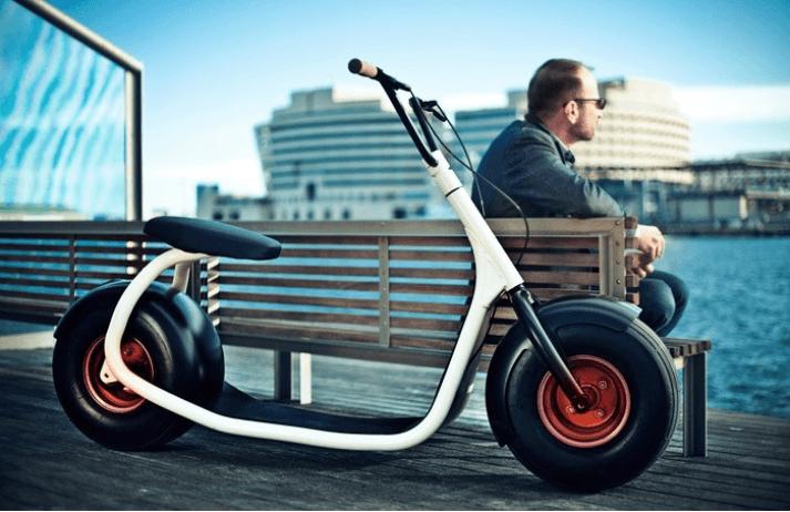 Scrooser, el scooter motorizado del futuro
