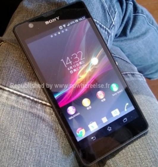 Se filtra imágenes del Smartphone Sony Xperia Z Ultra