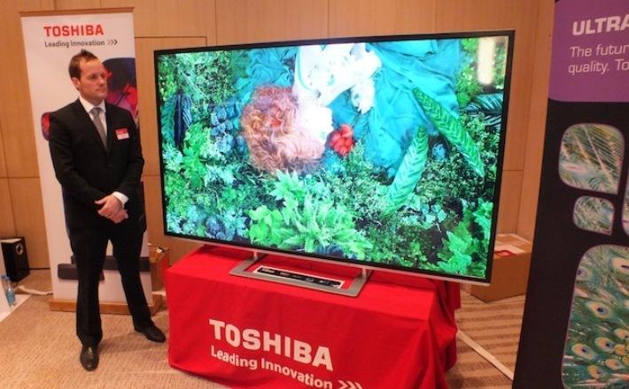 Toshiba planea lanzar al mercado nuevos modelos de TV 4K