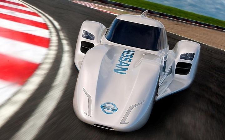 ZEOD de Nissan, el coche eléctrico más veloz del planeta
