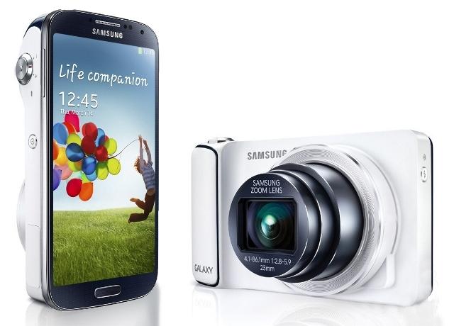 Samsung  Galaxy  S4  Zoom:  dispositivo   mitad   smartphone, mitad cámara fotográfica