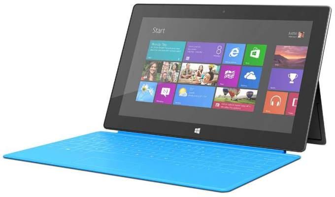 Microsoft rebajará a más de la mitad el precio de su tablet Surface RT