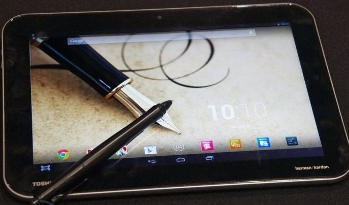 Toshiba lanza tres tablets nuevas con Android Jelly Bean