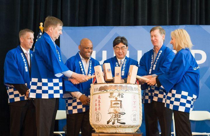 United  Airlines inauguró vuelo directo de Denver a Tokio con Boeing 787 Dreamliner
