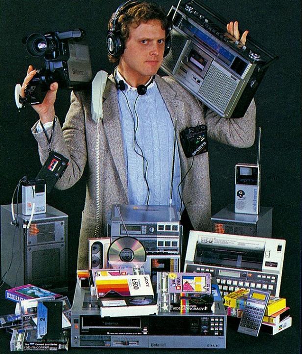 La foto de un Geek de hace 30 años atrás