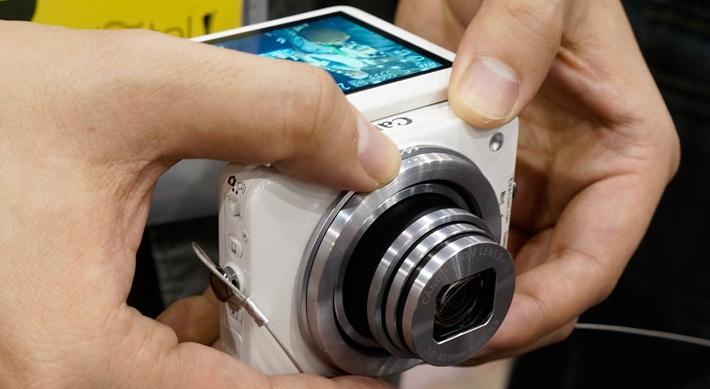 Canon PowerShot N, la cámara digital lista para conectarse con Facebook