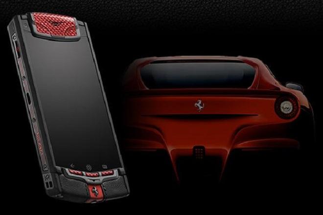 Vertu y Ferrari se unen para crear un smartphone de alta gama y lujo