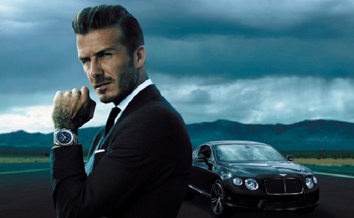 David Beckham es nombrado embajador de la marca Breitling for Bentley