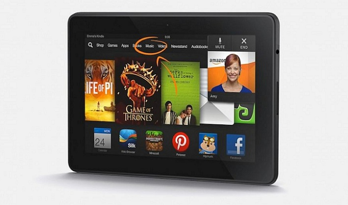 Kindle Fire HDX, la nueva tableta de Amazon