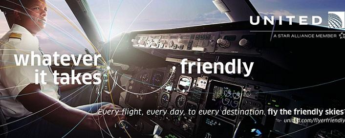 Nueva campaña de marca de United Airlines reinterpreta la temática del eslogan