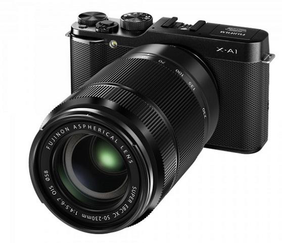 Fujifilm X-A1, nueva cámara compacta sin espejo y con objetivos intercambiable