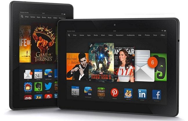 Amazon comienza a comercializar la Kindle Fire HDX