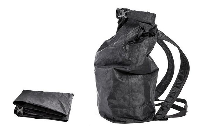 Minimal Backpack, una ligera mochila que es 10 veces más resistente que el acero