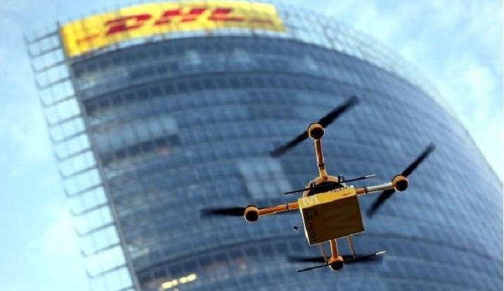 DHL realiza vuelo de prueba con un drone para sus entregas
