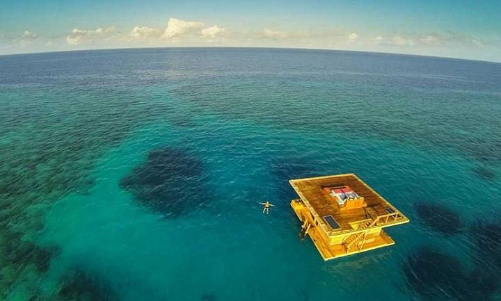 Habitación de hotel submarina que es el sueño de quienes gustan vacacionar