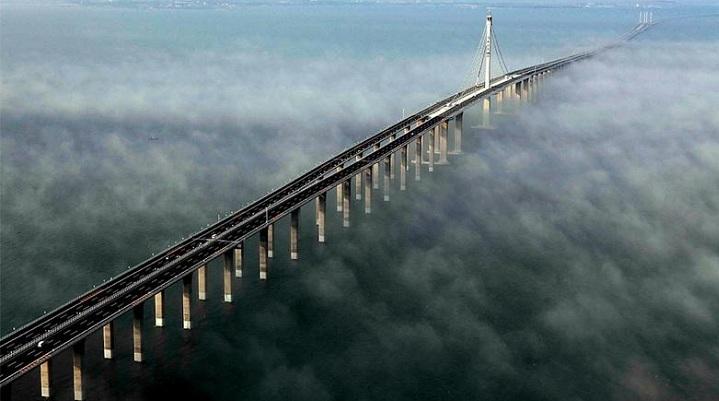 Dnyang-Kunshan, es el puente más largo del mundo
