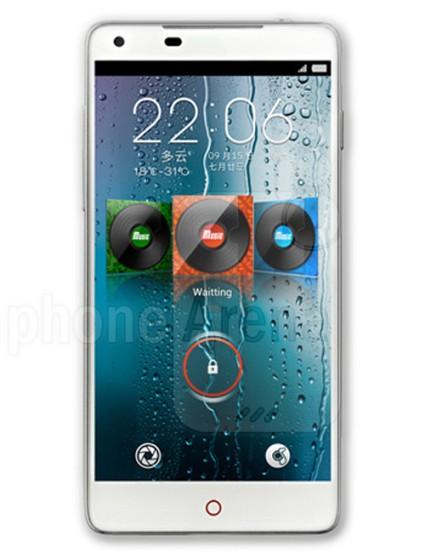 Smartphone ZTE nubia 5S, con grabación de video 4K