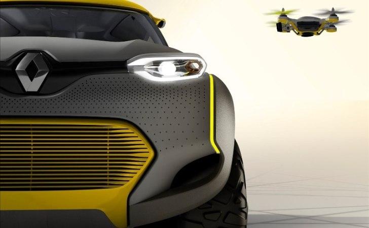 Renault presenta un coche concepto que lleva en el interior su propio Drone