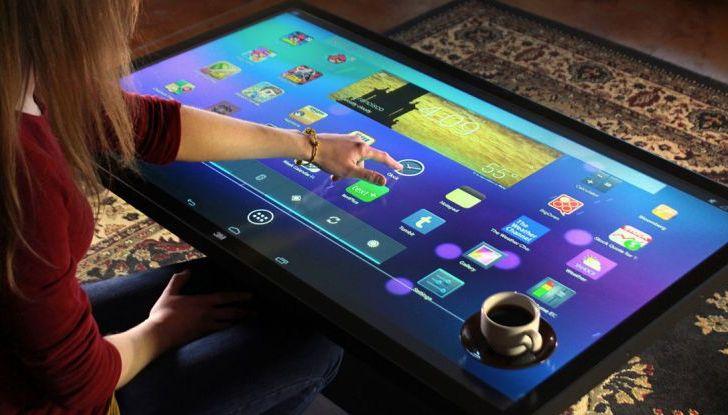 Coffee Table Android, mesa con pantalla de 46 pulgadas