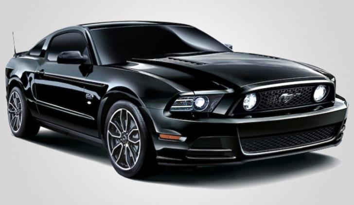 Ford lanza en Japón edición especial del Mustang V8 GT Coupe The Black