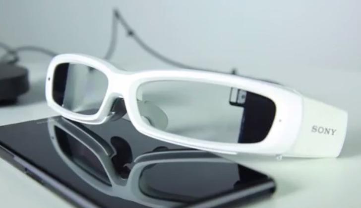 Sony SmartEyeglass, nuevas gafas de Realidad Aumentada pero con visión binocular