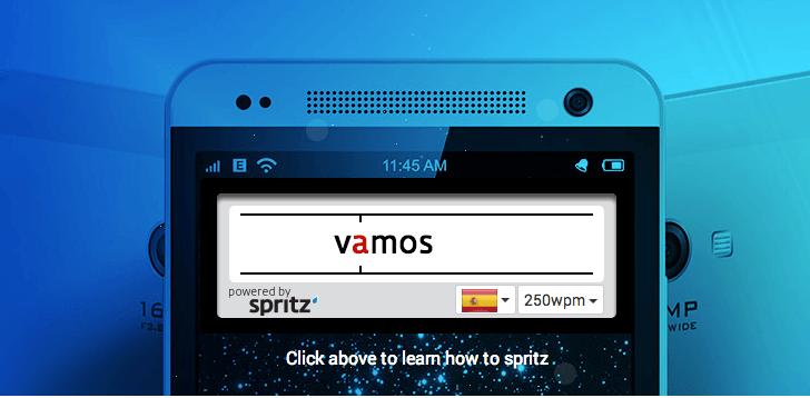 Crean software que permite leer 500 palabras por minuto en el Galaxy S5