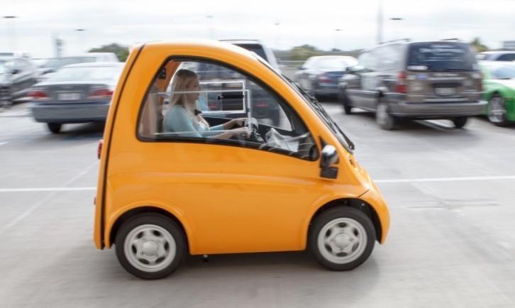 automóvil eléctrico Kenguru 3