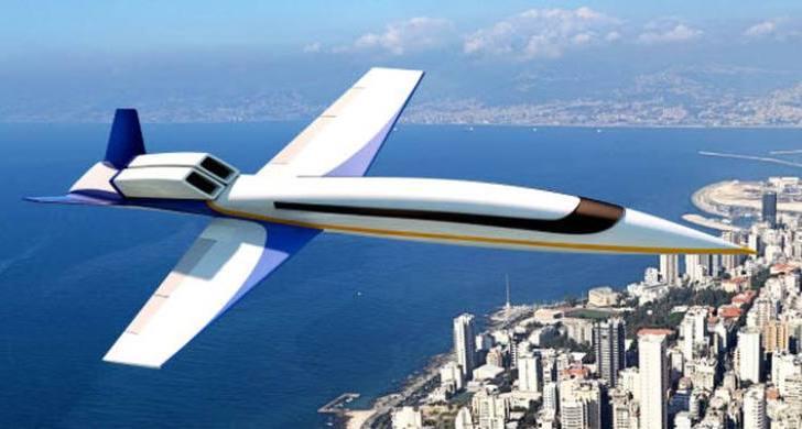 Futuro Jet supersónico reemplazaría sus ventanas por pantallas gigantes