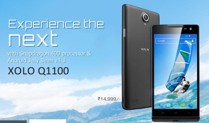 the XOLO Q1100-2