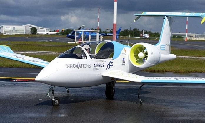 El avión eléctrico de Airbus realiza sus primeros vuelos de prueba