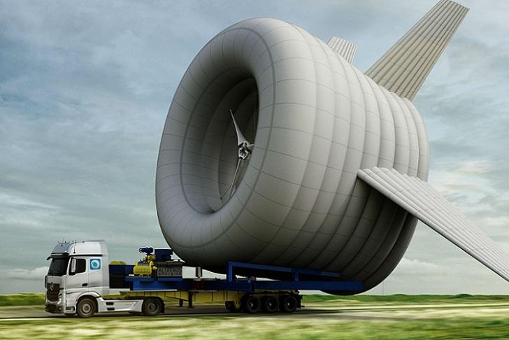 """Empresa fundada en el MIT crea """"la primer turbina aérea"""""""