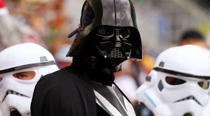 Darth Vader se presenta como candidato presidencial del Partido de Internet en Ucrania