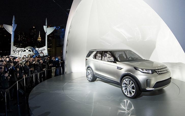 Land Rover se asocia con la empresa espacial Virgin Galactic