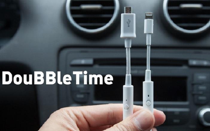 Moderno cable USB que puede cargar tu smartphone en la mitad de tiempo