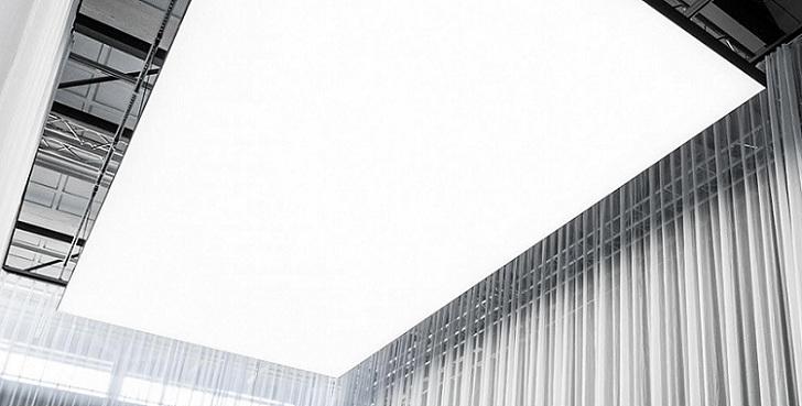 Philips diseña modernos paneles que brillan en lugar de lámparas