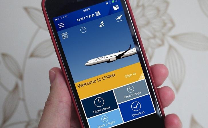 United Airlines presenta una nueva app móvil para Android