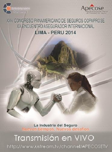 Transmitirán en vivo por internet conversatorio central del XXV Congreso Latinoamericano de Seguros