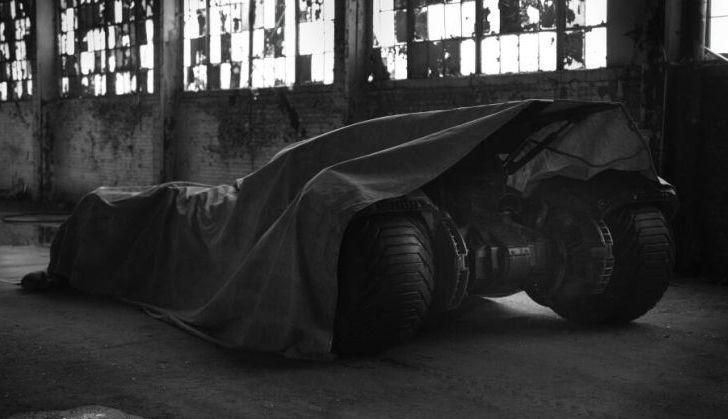 Primicia: Imagen del Batmóvil de la película Batman vs Superman