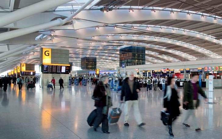 """Terminal del aeropuerto de Londres llevara el nombre de """"Samsung Galaxy S5″"""